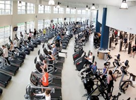Overview of a JCC Fitness Center
