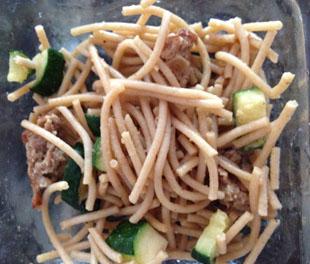 Spaghetti with Peanut Sauce