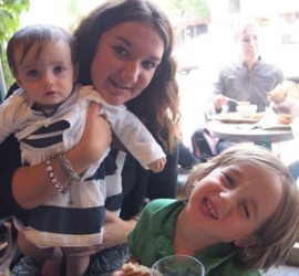 Au Pair Having Fun with Kids
