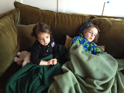 kids not feeling well