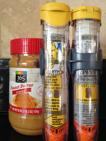 Epipens and Peanut Butter